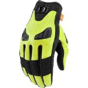 Icon Automag2 Gloves Yellow
